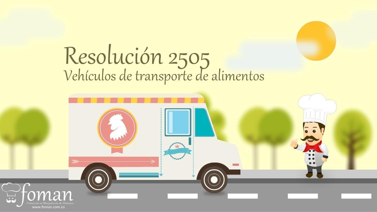 Vehículos de transporte de alimentos