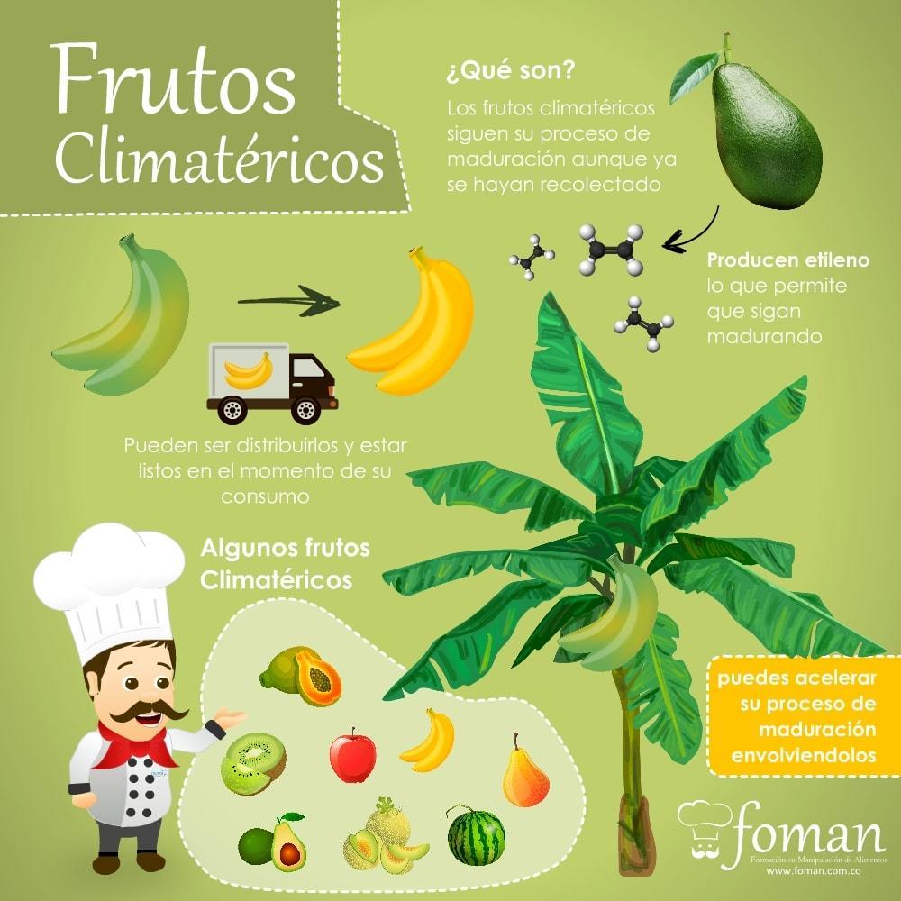 Frutos climatéricos FOMAN